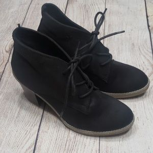 Old Navy Lace Up Ankle Booties size 8